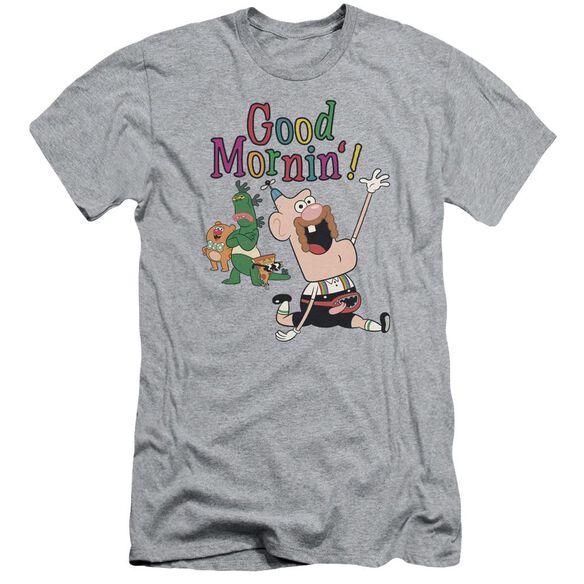 Uncle Grandpa Good Mornin Short Sleeve Adult Athletic T-Shirt