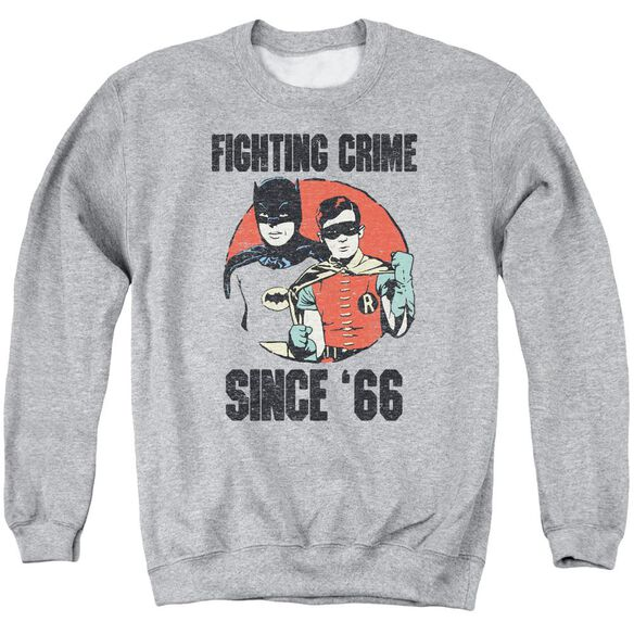 Batman Classic Tv Since 66 Adult Crewneck Sweatshirt Athletic