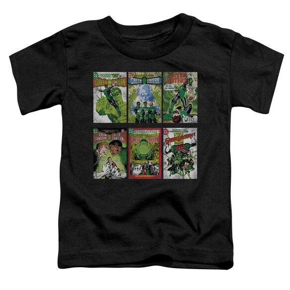 Green Lantern Gl Covers Short Sleeve Toddler Tee Black Sm T-Shirt