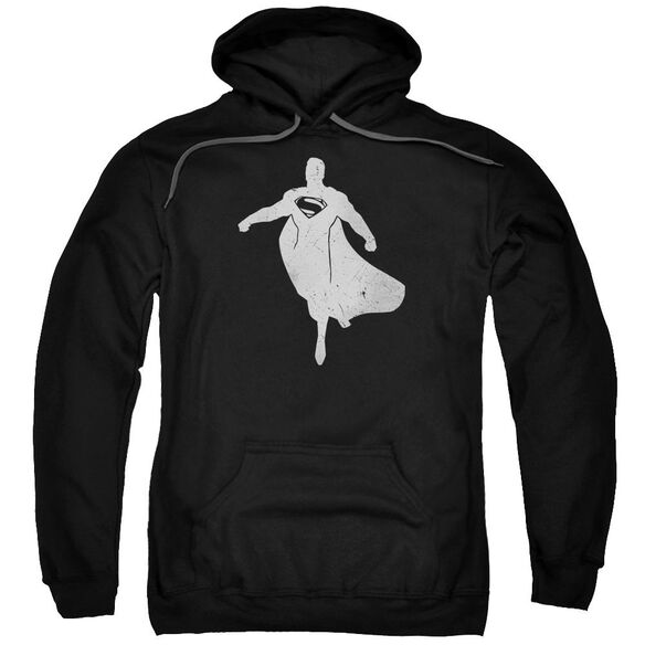Batman V Superman Superman Silhouette Adult Pull Over Hoodie