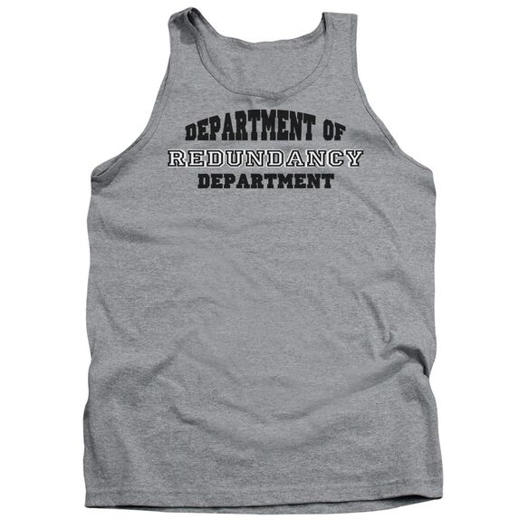 Dept Of Redundancy Adult Tank Athletic