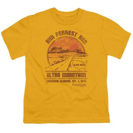Forrest Gump Ultra Marathon Short Sleeve Youth T-Shirt
