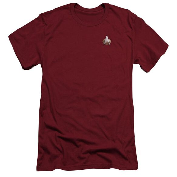 Star Trek Tng Command Emblem Short Sleeve Adult T-Shirt