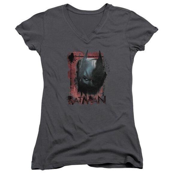 Dark Knight Rises Fear Me Junior V Neck T-Shirt