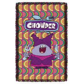 Chowder Hungry Woven Throw