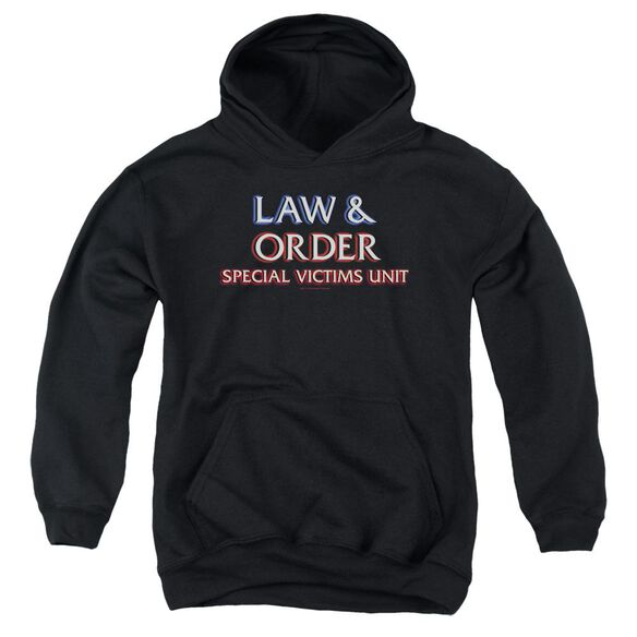 Law And Order Svu Logo Youth Pull Over Hoodie
