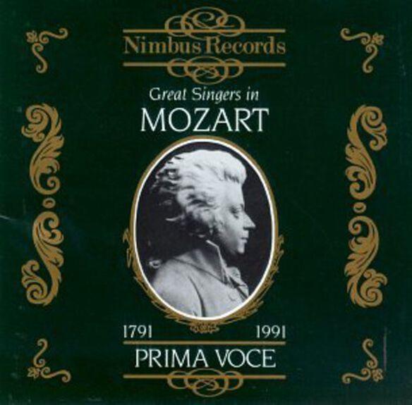 Various Artists - Great Singers in Mozart / Various