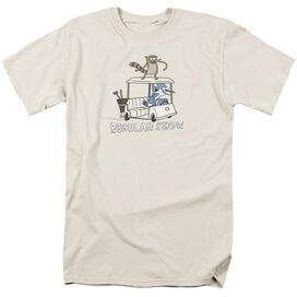 REGULAR SHOW GOLF CART-S/S T-Shirt
