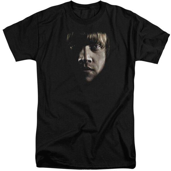 Harry Potter Ron Poster Head Short Sleeve Adult Tall T-Shirt