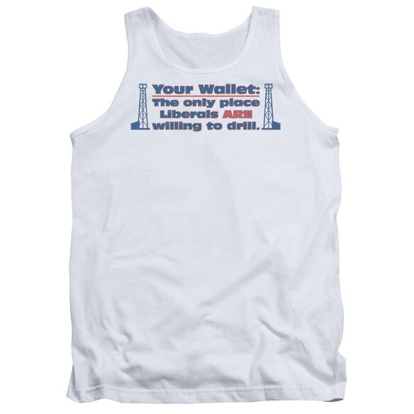 Your Wallet Adult Tank