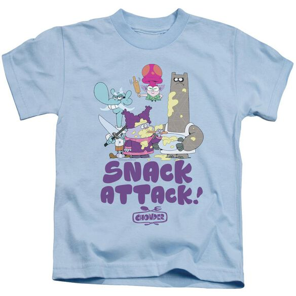 Chowder Snack Attack Short Sleeve Juvenile Light T-Shirt