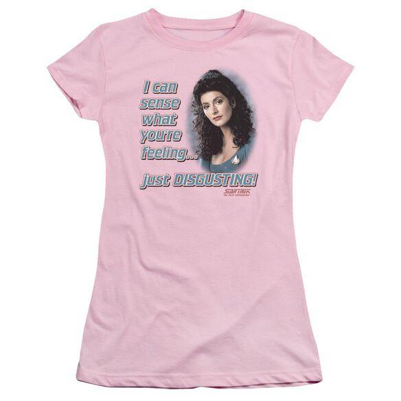 Star Trek No Empathy Short Sleeve Junior Sheer T-Shirt