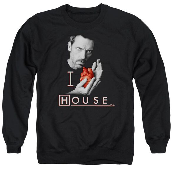 House I Heart House Adult Crewneck Sweatshirt