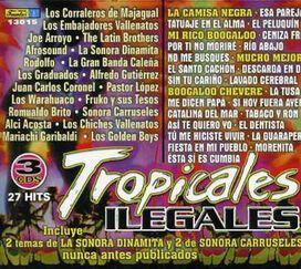 Various Artists - Tropicales Ilegales [Box Set]