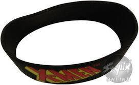 X-Men Name Rubber Wristband