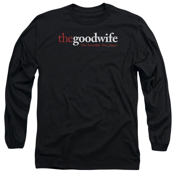 The Good Wife Logo Long Sleeve Adult T-Shirt