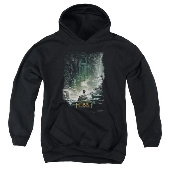 Hobbit At Smaug's Door Youth Pull Over Hoodie