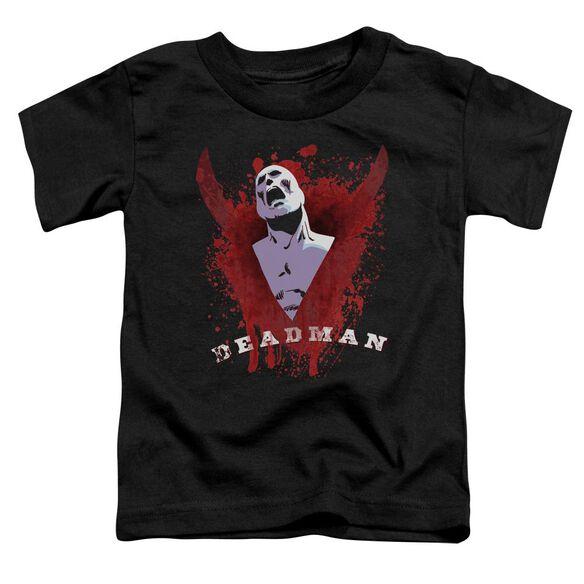 Jla Possession Short Sleeve Toddler Tee Black T-Shirt