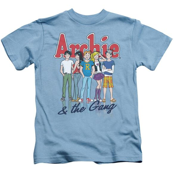Archie Comics And The Gang Short Sleeve Juvenile Carolina Blue T-Shirt