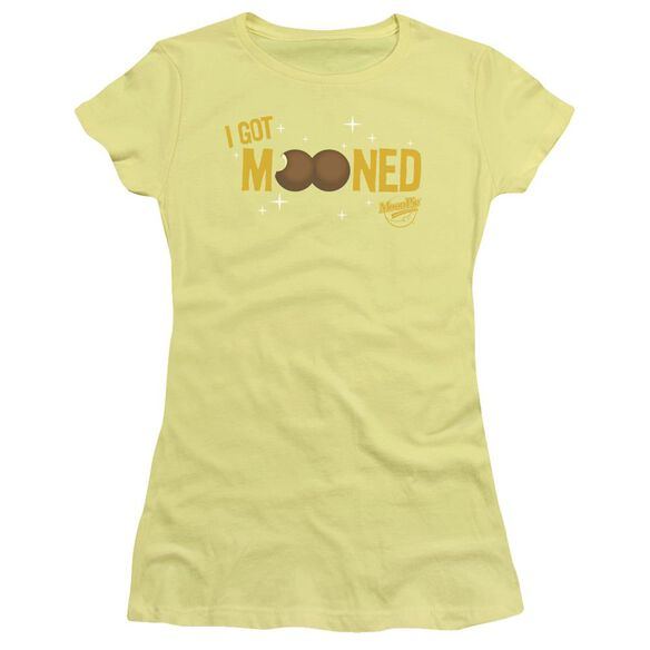 Moon Pie I Got Mooned Short Sleeve Junior Sheer T-Shirt