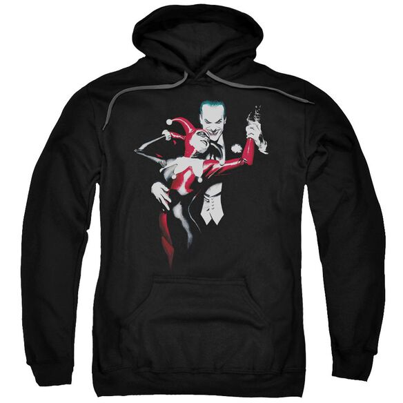 Batman Harley And Joker Adult Pull Over Hoodie