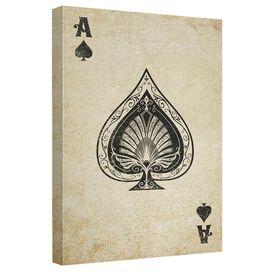 Vintage Spade Quickpro Artwrap Back Board