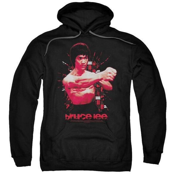 Bruce Lee The Shattering Fist Adult Pull Over Hoodie