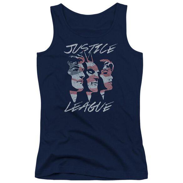 Jla Justice For America Juniors Tank Top