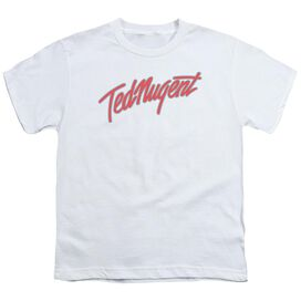 Ted Nugent Clean Logo Short Sleeve Youth T-Shirt