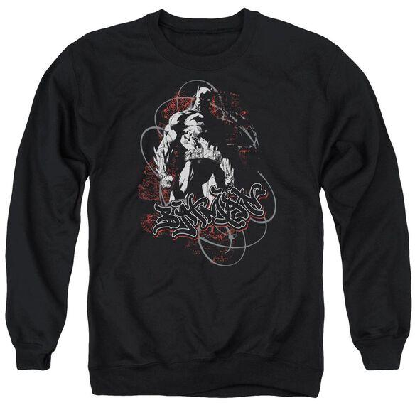 Batman Urban Gotham Adult Crewneck Sweatshirt