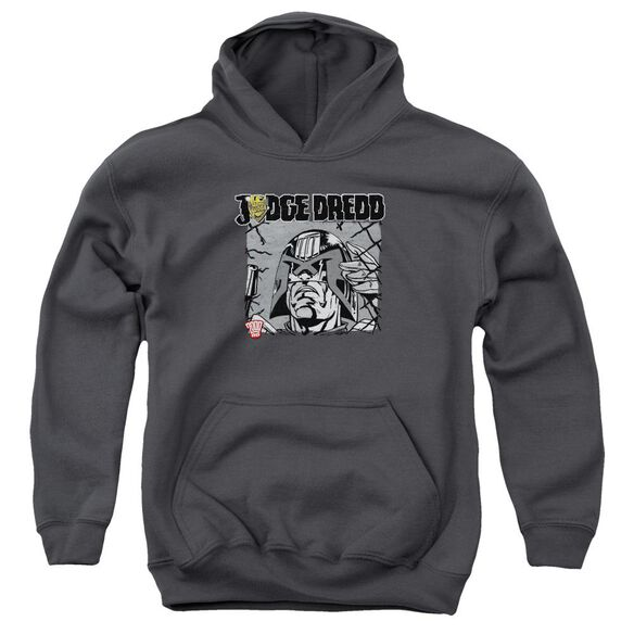 Judge Dredd Fenced Youth Pull Over Hoodie