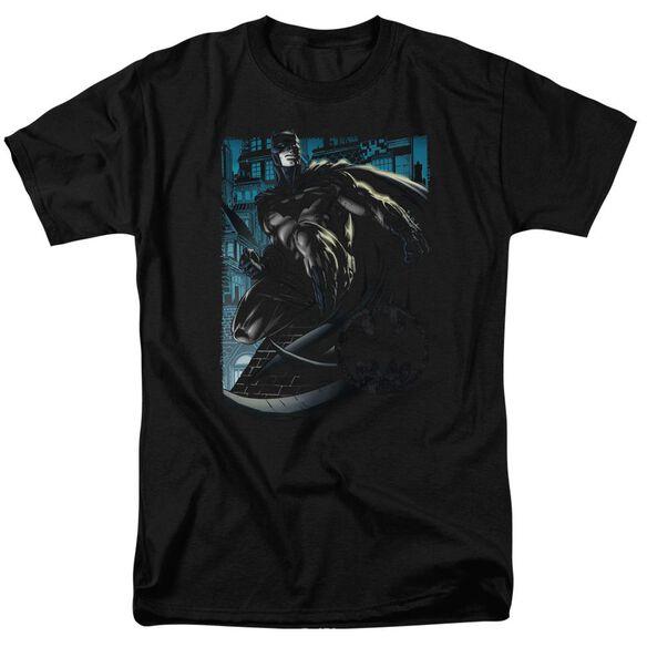Batman Knight Falls In Gotham Short Sleeve Adult T-Shirt