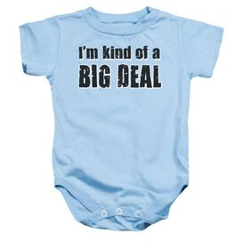 Big Deal Infant Snapsuit Light Blue Xl
