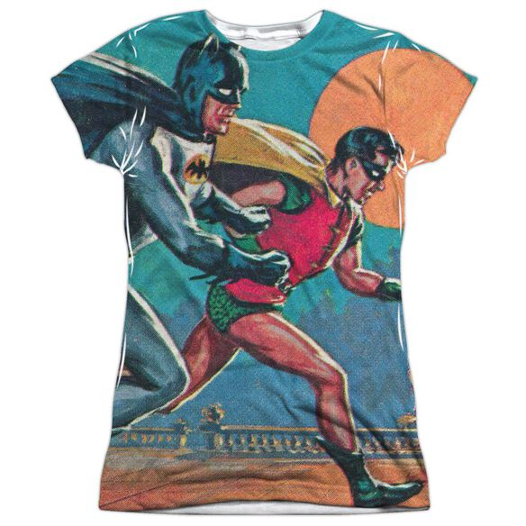 Batman Classic Tv Lets Go Short Sleeve Junior Poly Crew T-Shirt