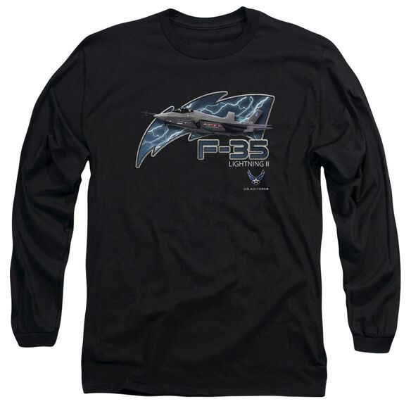 Air Force F35 Long Sleeve Adult T-Shirt