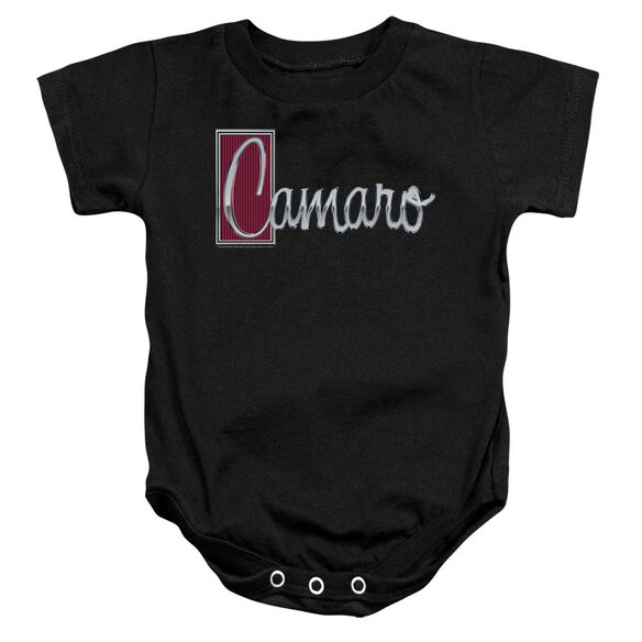 Chevrolet Chrome Script Infant Snapsuit Black