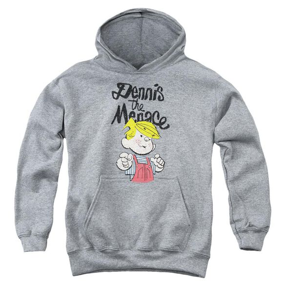 Dennis The Menace Point Youth Pull Over Hoodie Athletic