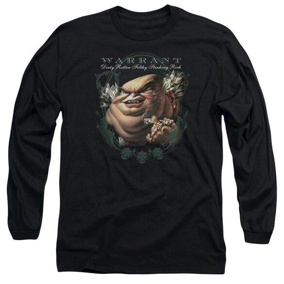 Warrant Stinking Rich Long Sleeve Adult T-Shirt