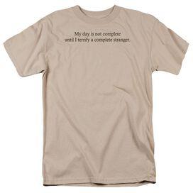 TERRIFY A STRANGER - ADULT 18/1 - SAND T-Shirt