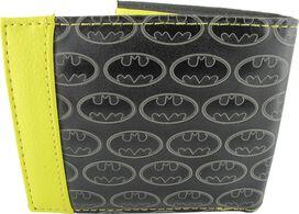 Batman Debossed Logos Bifold Wallet