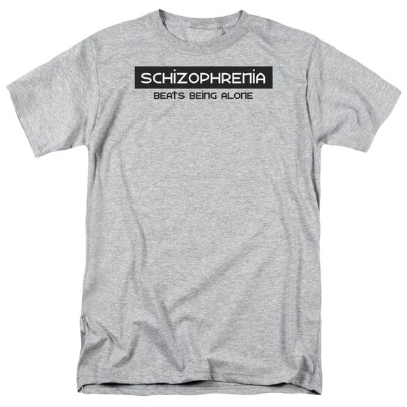 Schizophrenia Short Sleeve Adult Athletic T-Shirt