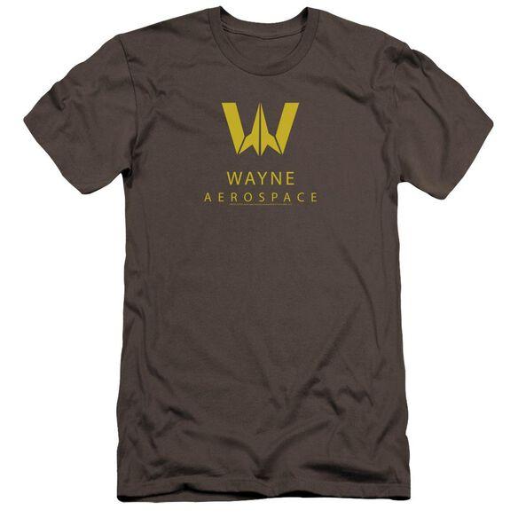 Justice League Movie Wayne Aerospace Hbo Short Sleeve Adult T-Shirt