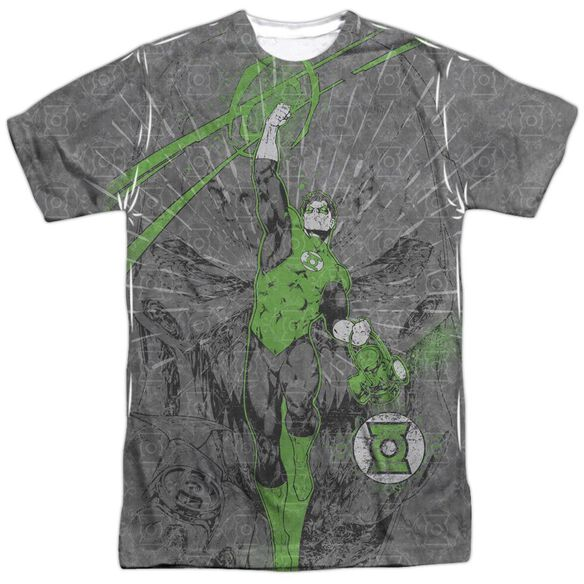 Green Lantern Vanquish Evil Short Sleeve Adult 100% Poly Crew T-Shirt