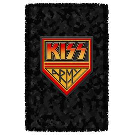 Kiss Army Woven Throw