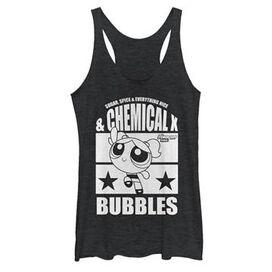 Powerpuff Girls Bubbles Tank Top Juniors T-Shirt