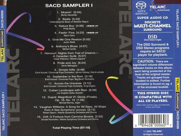 Sacd Sampler 1001