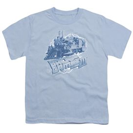 Back To The Future Iii Time Train Short Sleeve Youth Light T-Shirt