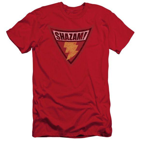 Batman Bb Shazam Shield Short Sleeve Adult T-Shirt