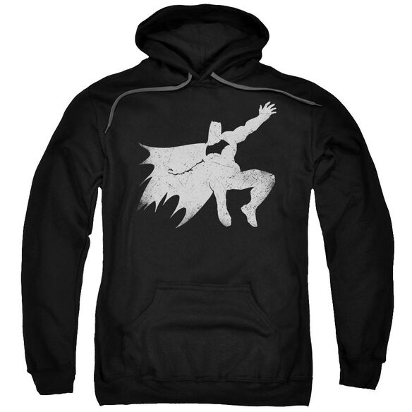 Batman V Superman Knight Silhouette Adult Pull Over Hoodie