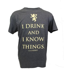 Game of Thrones - I Drink And I Know Things T-Shirt